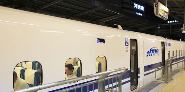 東海道・山陽新幹線(名古屋駅)