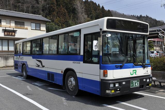 横川駅〜軽井沢駅を結ぶJRバス