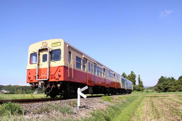 JR久留里線の列車