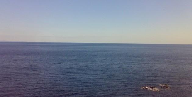 相模湾の海