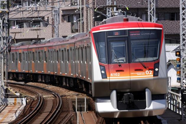 東急大井町線の電車