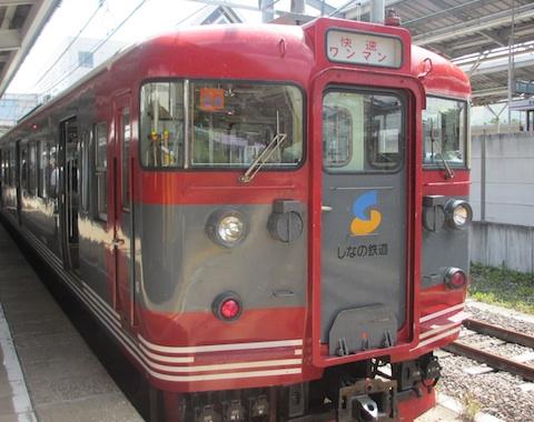 しなの鉄道電車