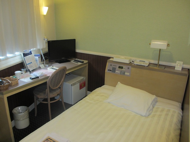 千葉ワシントンホテルの部屋