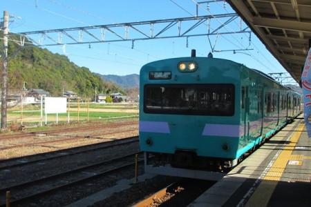 普通列車紀伊田辺行き