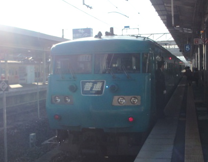 普通列車御坊行き