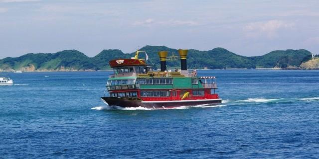 鳥羽湾めぐり観光船