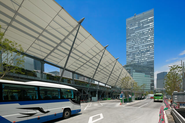 JR東京駅八重洲口 高速バスのりば