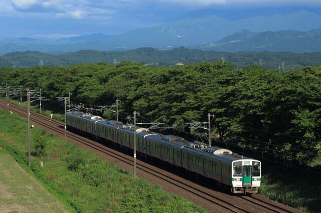 東北本線の列車