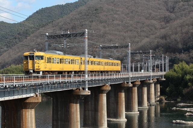 山陽本線の列車