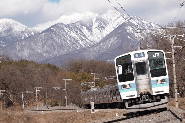 中央本線の列車