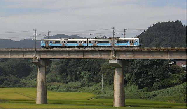 青い森鉄道の電車