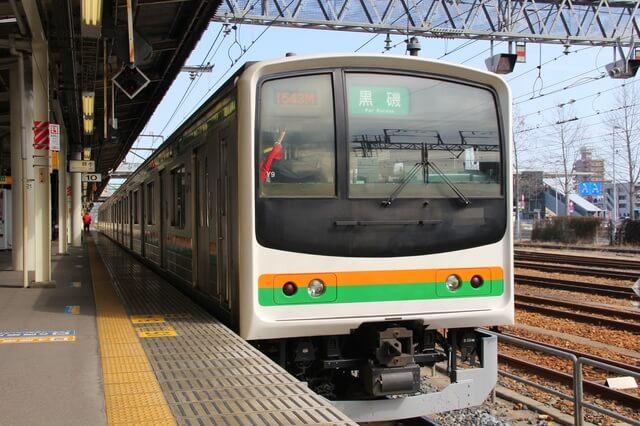 JR東北本線の電車