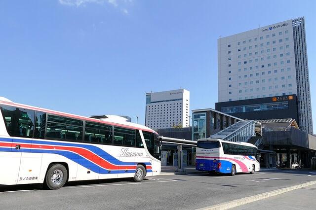 岡山駅西口バスセンター