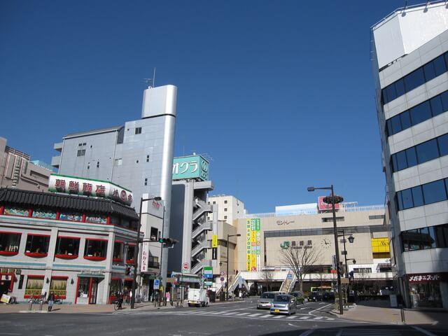 JR高崎駅前