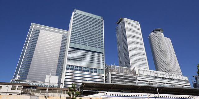 名古屋駅と新幹線